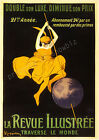 Vintage La Revue Illustree French print poster, large 4 sizes available