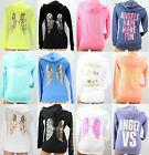 Victoria's Secret Supermodel Sequins Crystals Angel Wings Hoodie XS-S-M-L-XL New