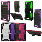For ZTE MAX N9520 Cover Rhino Holster Combo Belt Clip Case Accessory