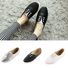 New SG16 Banding Slip On Loafer Plimsoll Canvas Women Shoes Sneakers Espadrilles
