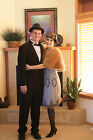UK6 TO UK30 Grey Vintage 1920s Flapper Gatsby Downton Abbey Deco Beaded Dress