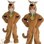 Boy's Deluxe Scooby Doo Polar Fleece Halloween Child Fancy Dress Costume Outfit