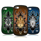HEAD CASE DESIGNS TRIBAL ANIMALS HYBRID TPU BACK CASE FOR APPLE iPHONE 5C