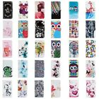 Fashion Flip PU Leather Wallet Card Holde Stand Phone Case Cover For Samsung