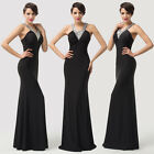 PROMOTION Long Sleeveless Formal Evening Masquerade Celeb Cocktail Party Dress