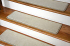 Dean Premium Nylon Non-Slip DIY Carpet Stair Step Rug Treads - Yacht Club Beige