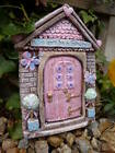 New Handmade In UK Sparkly Life Can Be a Fairy Tale Fairie Door Home Gift Garden