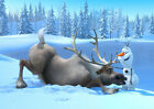 FROZEN 28 SVEN AND OLAF PHOTO PRINT