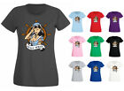 Womens Hello Sailor Girl Tattoo Style Pin Up T-shirt NEW UK 6-18