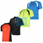 DARE 2B MENS MAGNETIZE CYCLING HALF ZIP JERSEY - NEW TOP BREATHABLE LIGHT TSHIRT