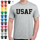 USAF Air Force Physical Training US Military PT T Shirt 24 Color Combinations