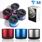 BLUETOOTH v3.0 WIRELESS MINI PORTABLE SPEAKERS FOR IPHONE IPAD MP3 Rechargble FM