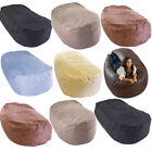 Faux Suede Large XL Jumbo Lounger Sofa Settee Couch Seat Bean Bag COVER ONLY