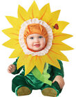 Cute Infant Baby Girls Silly Sunflower Flower Halloween Costume S-L