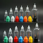 Dropper Bottles Multicolor Liquid Needle Tip Cap Ejuice Childproof Filling PET