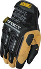 Mechanix Wear Work Gloves M Pact 4X Black/Tan Knuckle Protection