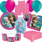 Disney Frozen Anna, Elsa, Party Kits, Plates, Cups, Decorations, Balloons!