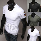 hot Man's Cotton Summer Stylish Short Sleeve Round Neck Shirts T-shirts