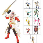 "Bandai Power Rangers Super Samurai Action Figure 11cm/4"" Mega Master Ranger 4+"