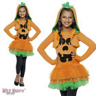 GIRLS PUMPKIN TUTU COSTUME HALLOWEEN FANCY DRESS