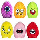 "10"" FUNKY FLASHERS Colour Changing Light Up Flashing FACE Cushion Pal"