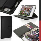 "PU Leather Wallet Card Flip Case for Apple iPhone 6 4.7"" Stand Magnetic Cover"