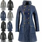 CharlesElie94 EMPEREUR Women's Long Quilted Padded Parka Coat AU 10-18