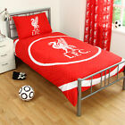 Liverpool FC Football Red Boys Kids Reversible Duvet Quilt Cover Bedding Set