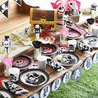 Pirate Party Girls Pink Deluxe Birthday Party Kits 8,16,24,32 Great Quality!