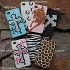 iPhone 4 Cover ~ Asst BLING! ~ Protective Case Hardback Western Cowgirl Cross