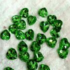 10mm Heart Point back Rhinestones Crystal Glass Chatons Strass Silver 50ps