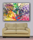 "Huge giclee canvas print. Abstract art 30""x40"" colorful painting"