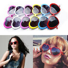 Extreme Trendy  Heart Unisex Sunglasses Party Glasses Retro Eyewear Low-cost