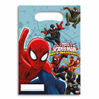 Spiderman Superhero Boys Birthday Party, Spiderman Party Loot Bags 6-42 Guests1