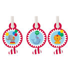 Circus Party Birthday Boys Girls Blowers x 8, 16, 24, 32, 40  FAST FREE POSTAGE!