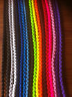 Large Dog Show Leads Clip 30 inches Braided Paracord Very Strong