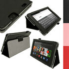 "PU Leather Folio Stand Flip Case Cover for Amazon Kindle Fire HD 7"" 2nd Gen 2013"