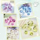 50 pieces Crystal Diamond Confetti Wedding Party Favor Paperweight Scatter Decor