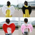 Halloween Party Costumes Children Performers Supplies Angel Wings