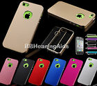 Colorful Heavy Duty All Metal Aluminum Hard Case Cover For Apple iPhone 5C C