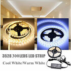 20M-5M 300LED RGB MultiColor Strip Light Kit Flexible Cutable Waterproof Lightin