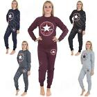 Womens Ladies Tracksuit Converse All Star Chuck Jogging Bottoms Size 8 10 13