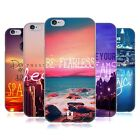 HEAD CASE WORDS TO LIVE BY SERIES 4 GEL BACK CASE COVER FOR APPLE iPHONE 6 4.7