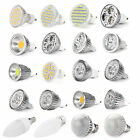 4 x E27/B22/E14/GU10/MR16 SMD RGB LED Bulbs Spot Lights Day/Warm White