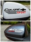 1 pair Chevrolet Cruze Sport Rear-View Mirror Reflective Stickers Decal