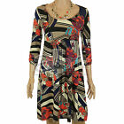 Ladies Womans Wallis Stretch Jersey Dress Tunic Casual Smart Size 8 10 12 Party