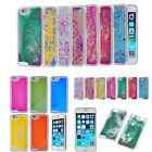 Dynamic Liquid Glitter Stars Bling Quicksand Hard Case Cover for iPhone 5/6/Plus
