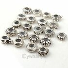150 pcs European Silver Plated Stopper Rubber Charms Bead Fit Snake Bracelet