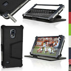 PU Leather Skin Stand Case for Samsung Galaxy Note 4 SM-N910 Flip Cover Folio