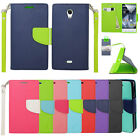 For Sharp Aquos Crystal 306 Case Wallet Pouch Stand ID Phone Protector Cover